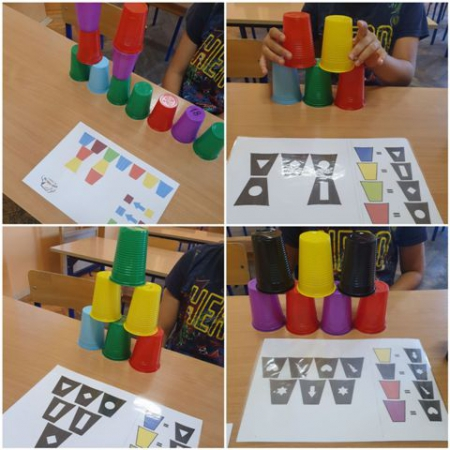 """Projekt e-twinning """"Kodowanie przez zabawę – kolorowe kubeczki"""