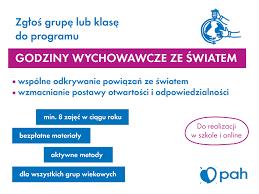 """""""Godziny Wychowawcze ze Światem"""" - Polska Akcja Humanitarna"""